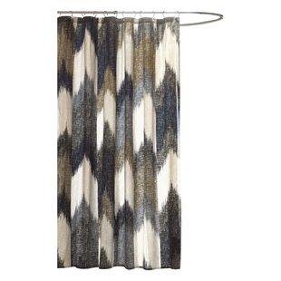 Mcshan Printed Single Cotton Shower Curtain