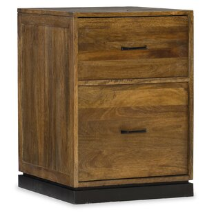 Rustique 2 Drawer Mobile Vertical Filing Cabinet by Hooker Furniture Great Reviews