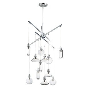 Senger 12-Light Cluster Pendant by Orren Ellis