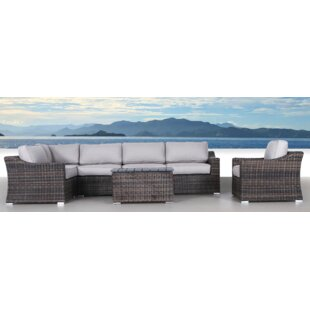 Huddleson 7 Piece Sectional Set with Cushions