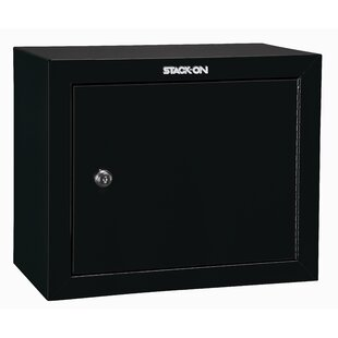 Steel Key Lock Pistol Security Cabinet by Stack-On