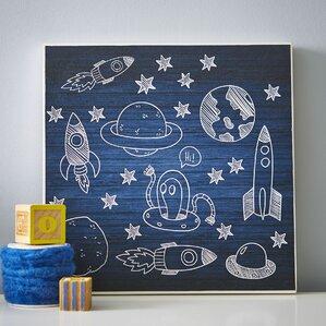 Deep Space Mine Wall Art