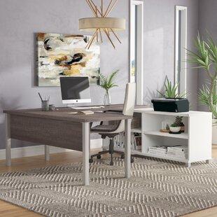 Pham U-Shape Desk Office Suite by Wrought Studio
