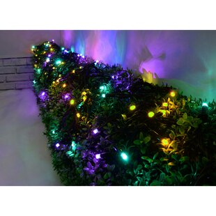 Connectable Colour Changing Rainbow LED Rubber 50 Light String Lights Image