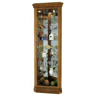 Darby Home Co Braud Corner Curio Cabinet