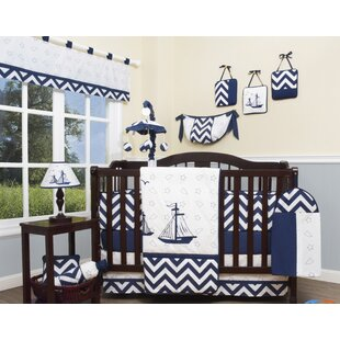 Searching for Explorer Nautical 13 Piece Crib Bedding Set ByGeenny