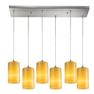 Wira 6-Light Cluster Pendant by Latitude Run
