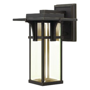 Order Manhattan 1-Light Outdoor Wall Lantern By Hinkley Lighting