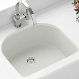 Single Undermount Kitchen Sink