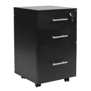 Land Pedestal 3 Drawer Mobile Vertical Filing Cabinet