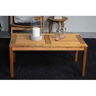 Priyansh Wooden Coffee Table By Sol 72 Outdoor