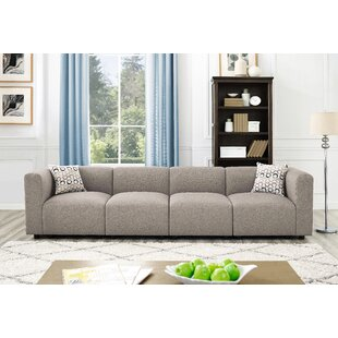 Karol Linen-Like Modular Sofa by Ivy Bronx Read Reviews