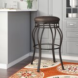 Mcdermott Swivel Extra Tall & Counter Stool by Andover Mills™