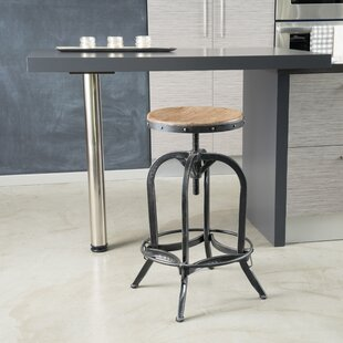 Knowsley Adjustable Height Swivel Bar Stool Trent Austin Design