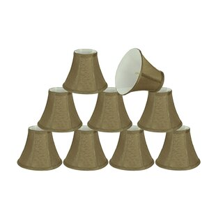 6 Fabric Bell Candelabra Shade (Set of 9)