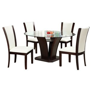 Folmar 5 Piece Dining Set Latitude Run