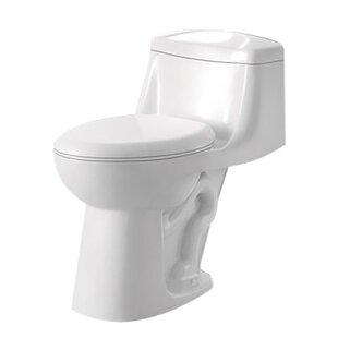 ANZZI Templar 1.28 GPF Elongated One-Piece Toilet