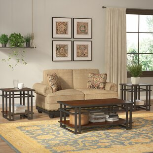 Trent Austin Design Breen 3 Piece Coffee Table Set