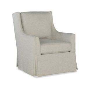 Sam Moore Hand Over Heart Swivel Armchair