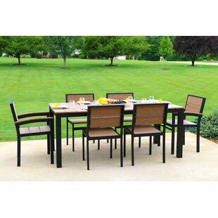 Orren Ellis Katreesha Modern Outdoor Dining Set