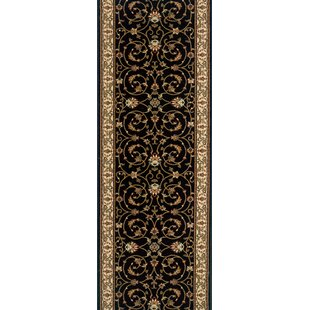 Compare Shamgarh Black Area Rug ByMeridian Rugmakers