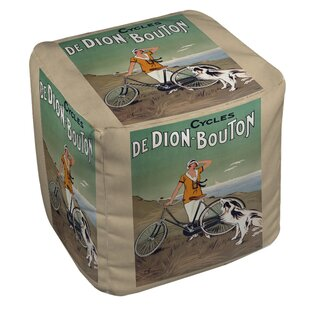 Cycles De Doin Bouton Pouf by Manual Woodworkers & Weavers