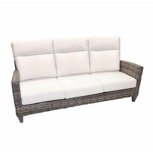 Lexington Patio Sofa With Sunbrella Cushions By Highland Dunes