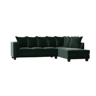 Great Price Burwood Sectional by Red Barrel Studio Reviews (2019) & Buyer's Guide