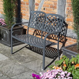 Claretta Metal Traditional Bench By Sol 72 Outdoor