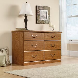 Oxford 6 Drawer Double Dresser