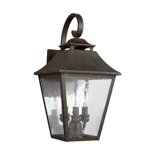Stults 3-Light Outdoor Wall Lantern