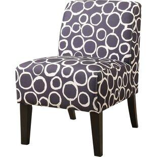 Carlson Slipper Chair by Ebern Designs