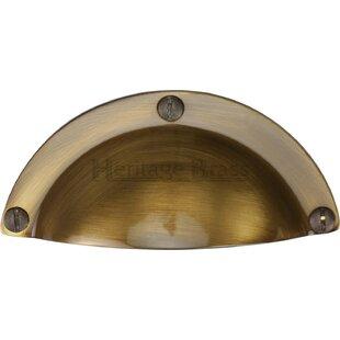 heritage brass drawer pull wayfair co uk