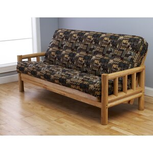 Lodge Peter's Cabin Futon and Mattress by Kodiak Furniture