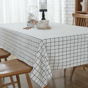 Hadlock Simple Squares Tablecloth