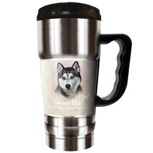 Howard Robinson's Siberian Husky 20 oz. Stainless Steel Travel Tumbler