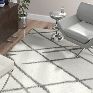 Guide to buy Hendrix White Shag Area Rug By Wade Logan