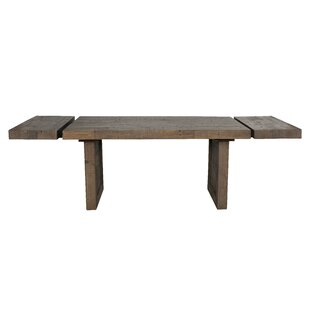 Liesel Extendable Solid Wood Dining Table
