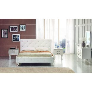 Owen Twin Upholstered Platform Bed