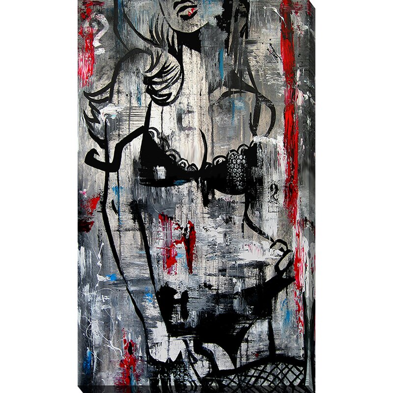 Pictureperfectinternational Who The Is Alice By Tom Fedro Graphic Art On Wrapped Canvas Wayfair Ca