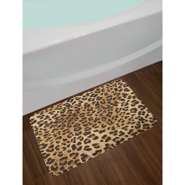 Leopard Print Bath Mat Wayfair