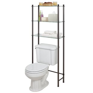 Sciortino 26 W x 63 H x 105 D Metal FreeStanding Bathroom Shelves