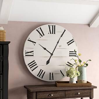 Latitude Run Star Aesthetical Abstract Metal Wall Clock Wayfair
