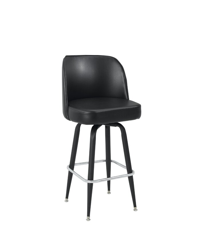 Premier Hospitality Furniture 32 Swivel Bar Stool Reviews Wayfair