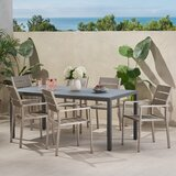 Brookmount Outdoor 7 Piece Dining Set