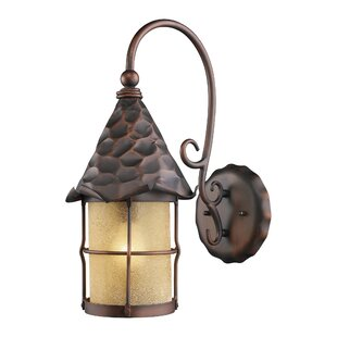 Top Reviews Rustica 1-Light Outdoor Wall Lantern By Landmark Lighting