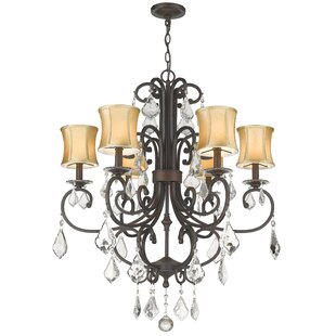 House of Hampton Freeman 6-Light Shaded Chandelier