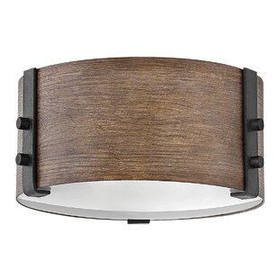 Sawyer 2-Light Outdoor Flush Mount