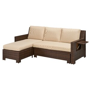 Ferndale Deck Convertible Sectional Sofa with Cushions