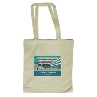Central Library, Birmingham Tote Bag By East Urban Home